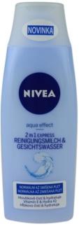Nivea Aqua Effect mlijeko i voda za čišćenje lica 2 u 1