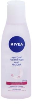 Nivea Aqua Effect upokojujúca čistiaca pleťová voda pre citlivú a suchú pleť