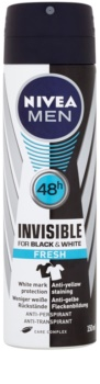 Nivea Men Invisible Black & White antitranspirante en spray
