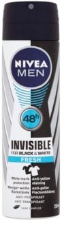 Nivea Men Invisible Black & White spray anti-transpirant