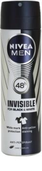 Nivea Men Invisible Black & White Antiperspirant Spray för män