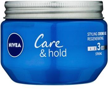 Nivea Care & Hold krémový gel na vlasy