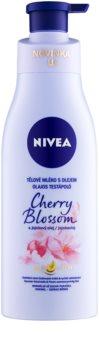 Nivea Cherry Blossom & Jojoba Oil Body lotion mit Öl