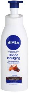 Nivea Cocoa Indulging leite corporal nutritivo  para pele seca