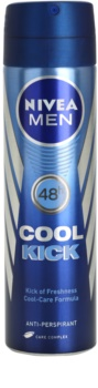 Nivea Men Cool Kick antitranspirante em spray