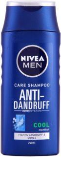 Nivea Men Cool šampon proti lupům pro svědící a podrážděnou pokožku