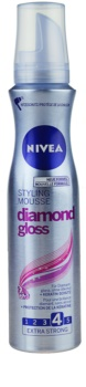 Nivea Diamond Gloss espuma fijadora