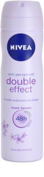 Nivea Double Effect antitranspirante em spray