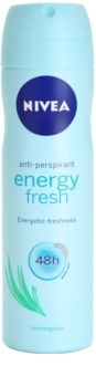 Nivea Energy Fresh déodorant en spray