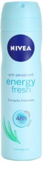 Nivea Energy Fresh Spray deodorant