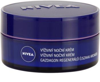 Nivea Face Nourishing Night Cream for Dry and Sensitive Skin