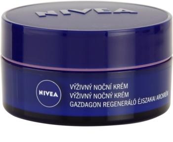 Nivea Face подхранващ нощен крем за суха до чувствителна кожа