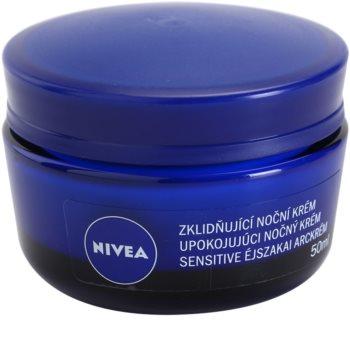Nivea Face Soothing Night Cream for Sensitive Skin