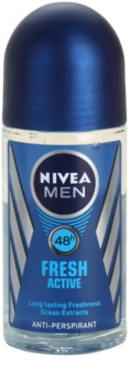 Nivea Men Fresh Active Roll-On Antiperspirant for Men