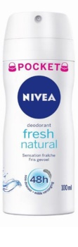 Nivea Fresh Natural desodorante en spray