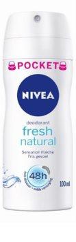 Nivea Fresh Natural spray dezodor