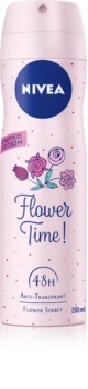Nivea Flower Time! antitranspirantes