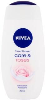 Nivea Care & Roses Nærende brusege l