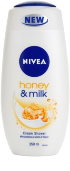 Nivea Honey & Milk gel de duche cremoso