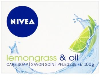 Nivea Lemongrass & Oil savon solide