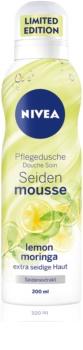 Nivea Silk Mousse Lemon Moringa jedwabisty mus do mycia ciała