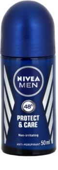 Nivea Men Protect & Care roll-on antibacteriano para homens