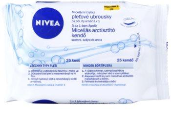 Nivea Micellar toalhetes de limpeza facial 3 em 1