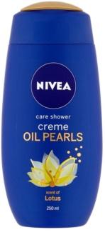 Nivea Creme Oil Pearls upokojujúci sprchový gél