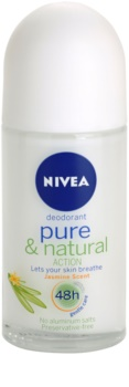 Nivea Pure & Natural deodorante roll-on