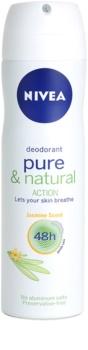 Nivea Pure & Natural desodorante en spray 48h