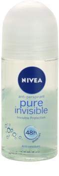 Nivea Pure Invisible antiperspirant roll-on