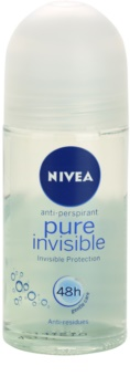 Nivea Pure Invisible αντιιδρωτικό ρολλ-ον
