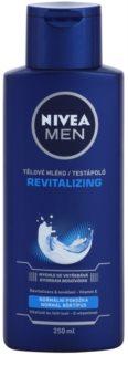 Nivea Men Revitalizing тоалетно мляко за тяло за мъже
