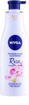 Nivea Rose & Argan Oil Body Lotion With Oil