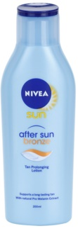 Nivea Sun After Sun & Bronze lait après soleil pour prolonger le bronzage
