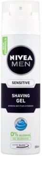 Nivea Men Sensitive τζελ ξυρίσματος