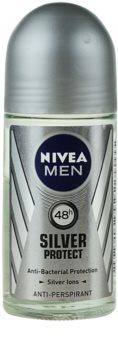 Nivea Men Silver Protect antitranspirante roll-on para hombre