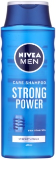 Nivea Men Strong Power szampon wzmacniający