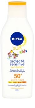 Nivea Sun Kids latte abbronzante per bambini SPF 50+