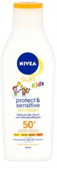 Nivea Sun Kids Sun Lotion for Kids SPF 50+