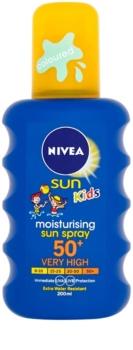 Nivea Sun Kids buntes Bräunungsspray für Kinder SPF 50+