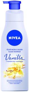 Nivea Vanilla & Almond Oil latte corpo con olio
