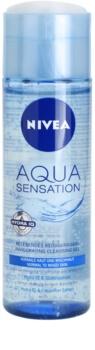 Nivea Visage Aqua Sensation очищуючий гель для нормальної та змішаної шкіри