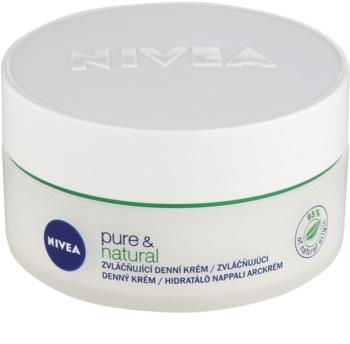 Nivea Visage Pure & Natural omekšavajuća dnevna krema za normalnu i mješovitu kožu lica