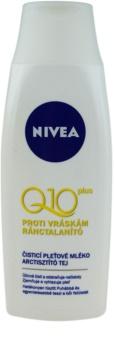 Nivea Visage Q10 Plus latte detergente viso antirughe