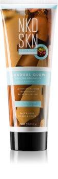 NKD SKN Gradual Glow crema autoabbronzante trasparente per un'abbronzatura graduale