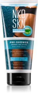 NKD SKN Pre-Shower crème auto-bronzante lavable pour un bronzage progressif