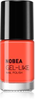 NOBEA Colourful vernis à ongles effet gel