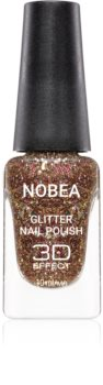 NOBEA Festive smalto per unghie glitter