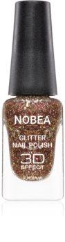 NOBEA Festive třpytivý lak na nehty